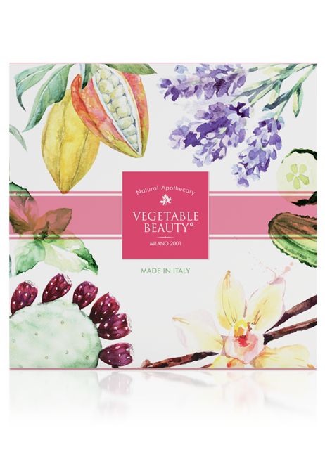 "GIFT SET ""VEGETABLE BEAUTY"" №1 Seduction for your skin"